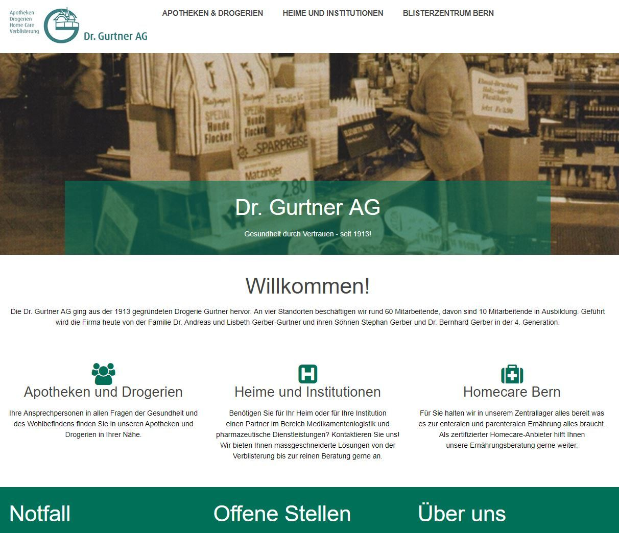Website Dr. Gurtner