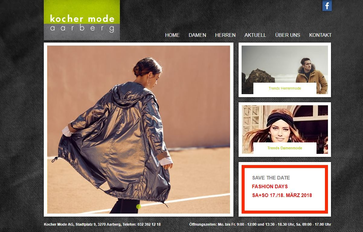 Website Kocher Mode