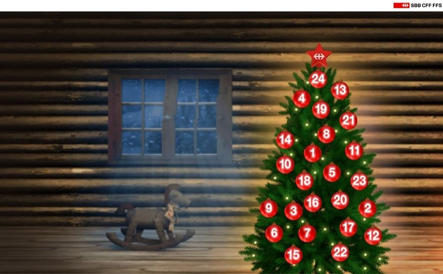 Website SBB Adventskalender 2017