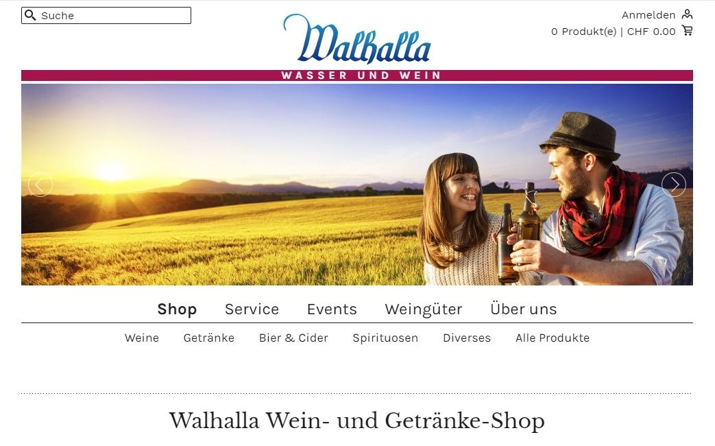 Website Walhalladrink
