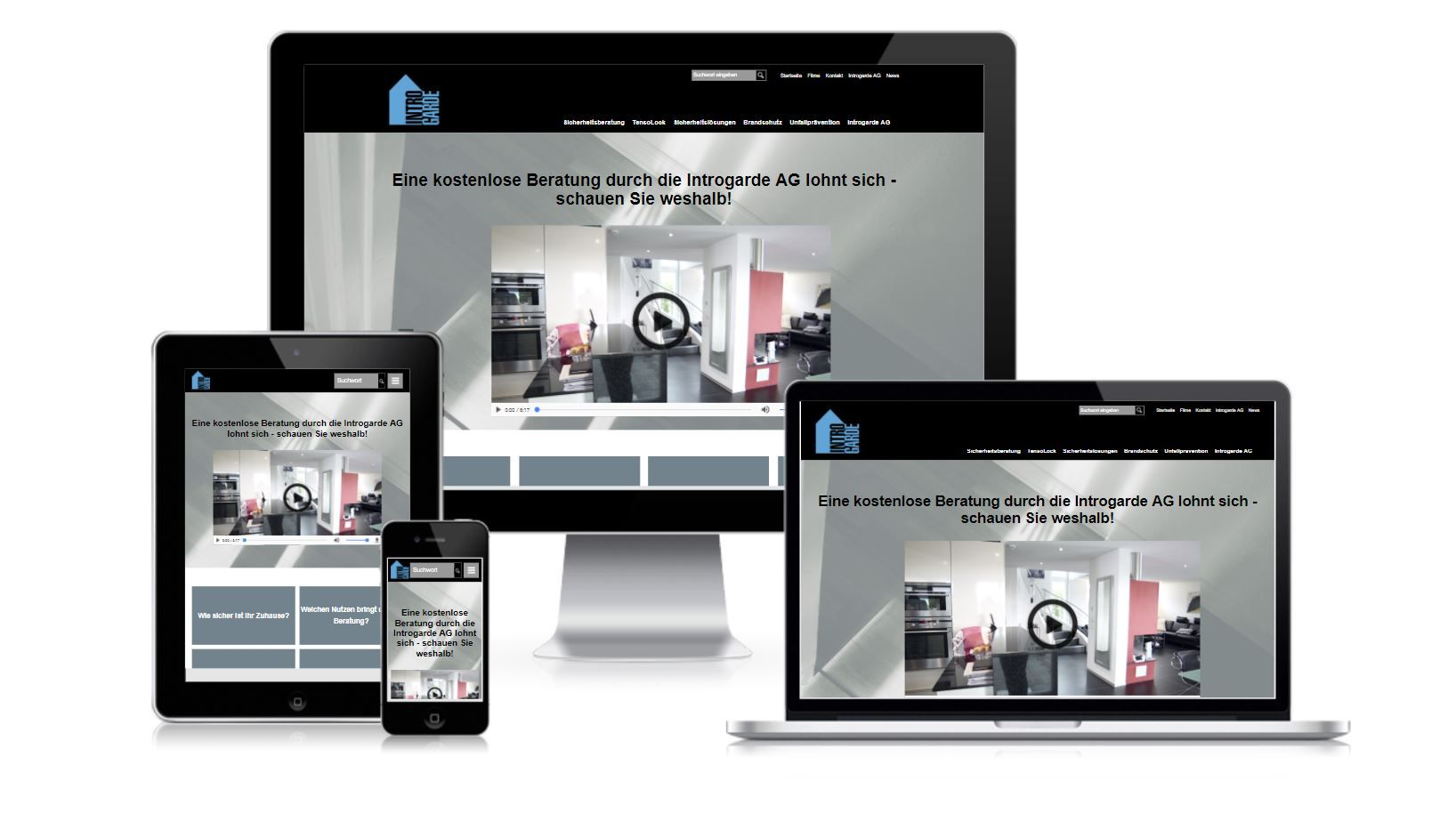 Referenz iqual Responsive Webdesign Introgarde