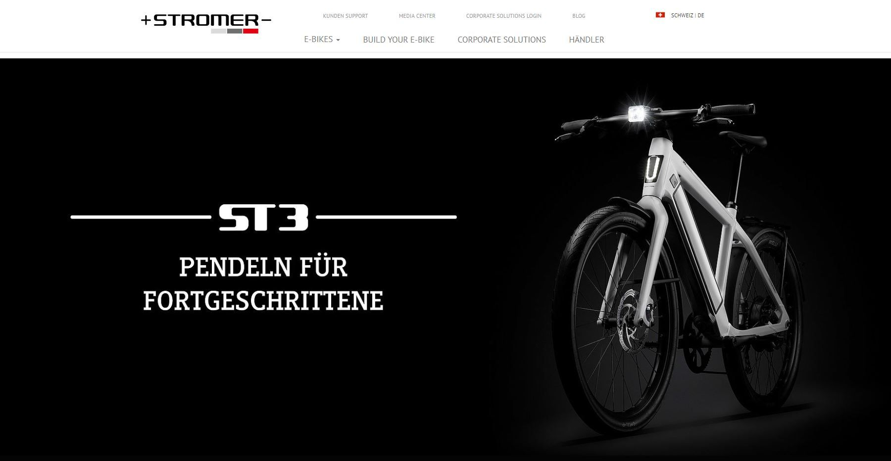 Website myStromer AG