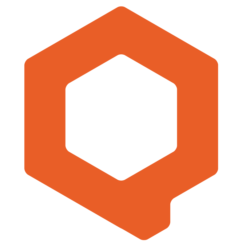 Logo iqual Orange Q