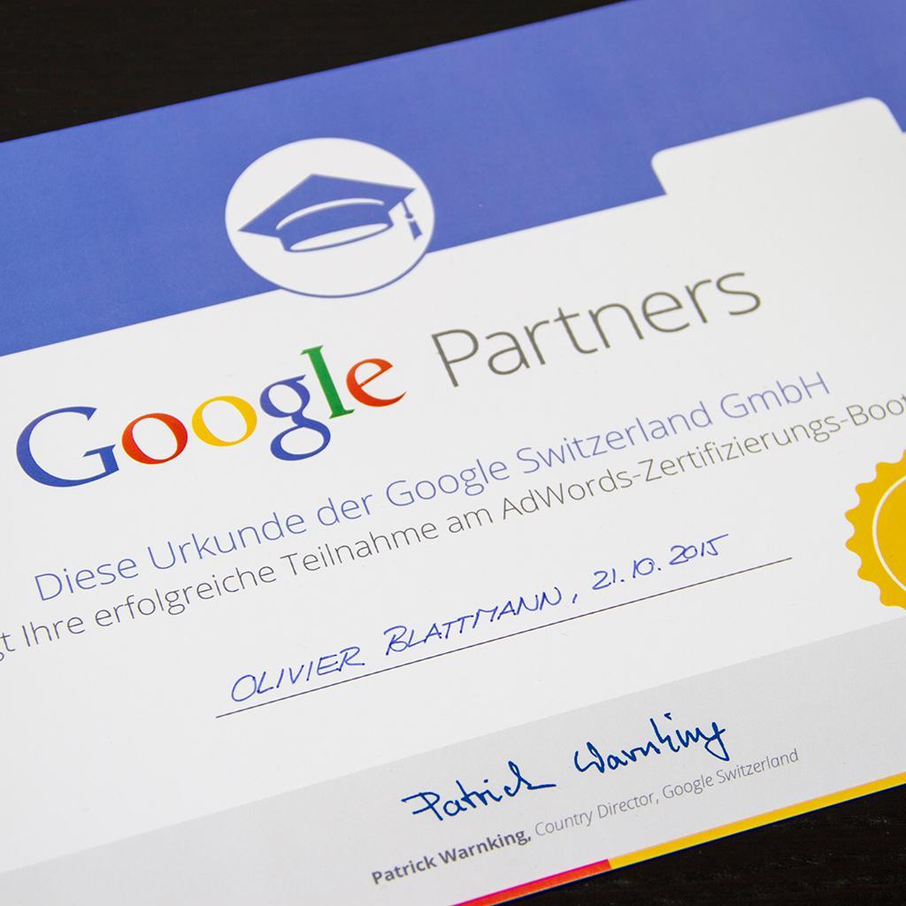 Google Partner Olivier Blattmann