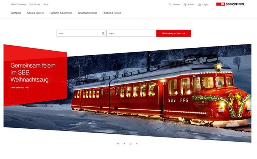 Website SBB