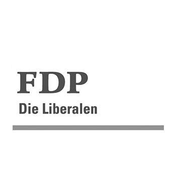 Logo FDP Aarberg