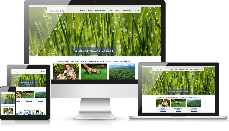 Responsive Webdesign Eric Schweizer AG