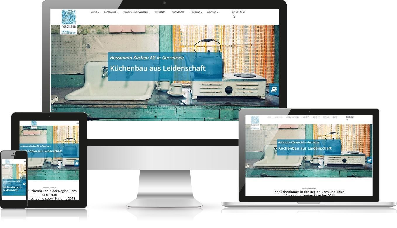 Responsive Webdesign Hossmann Küchen