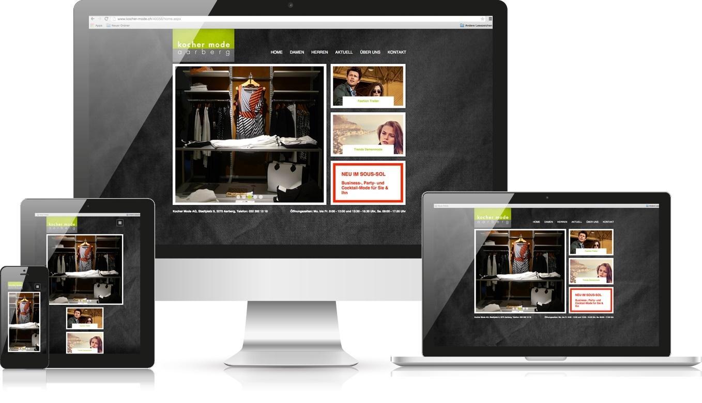 Responsive Webdesign Kocher Mode