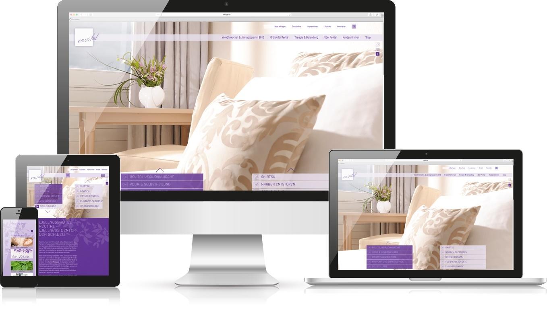 Responsive Webdesign Revital