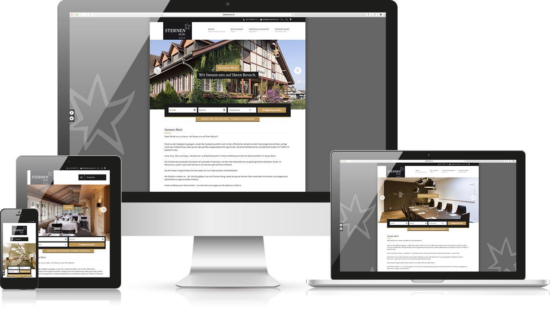 Responsive Webdesign Sternen Muri