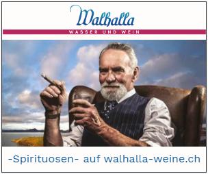 Walhalla Banner Spirituosen