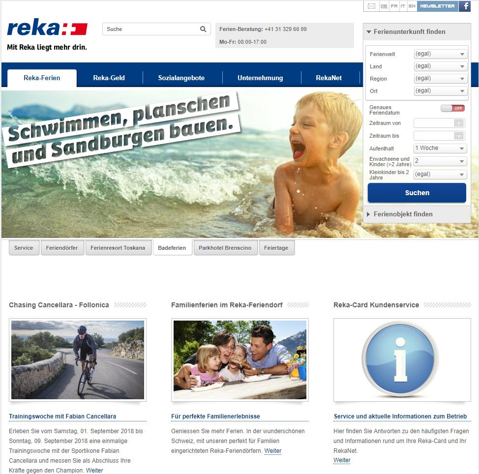 Referenz Reka - Analyse und Beratung