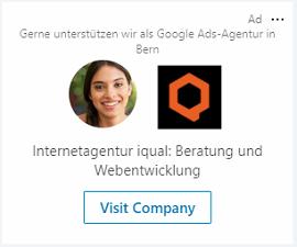 LinkedIn Spotlight Ad