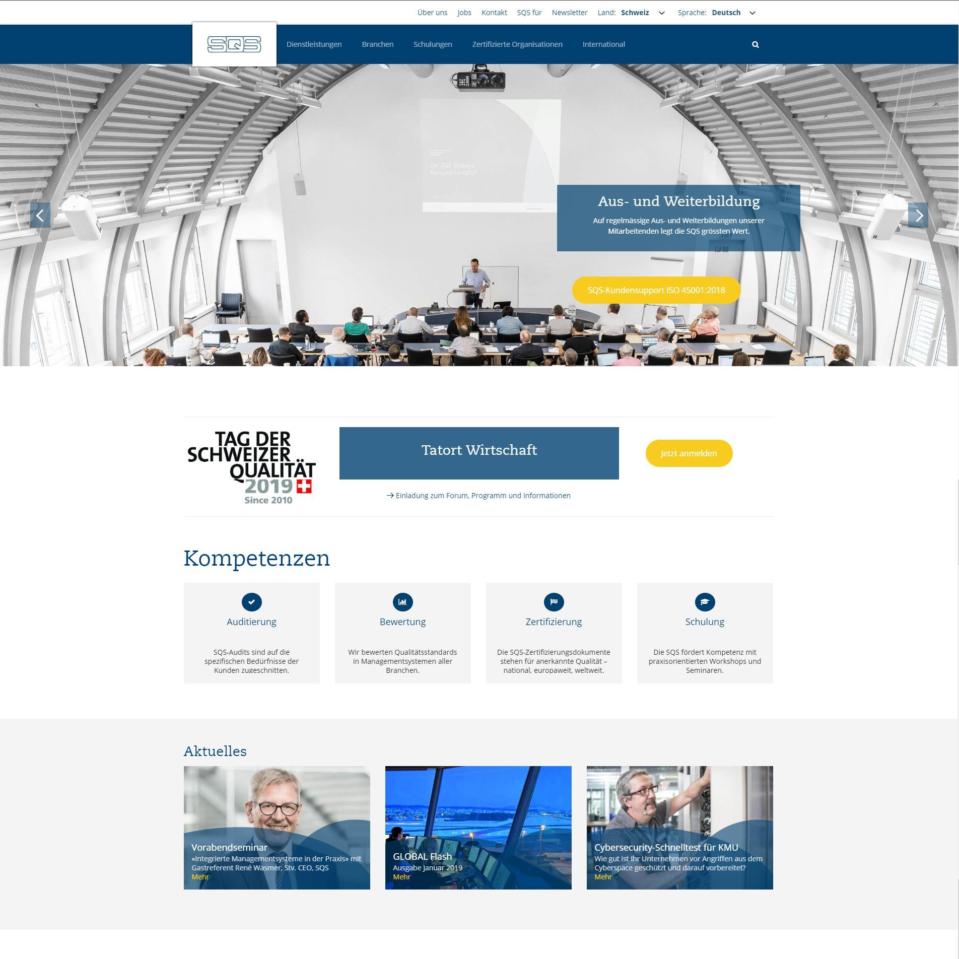 Website SQS