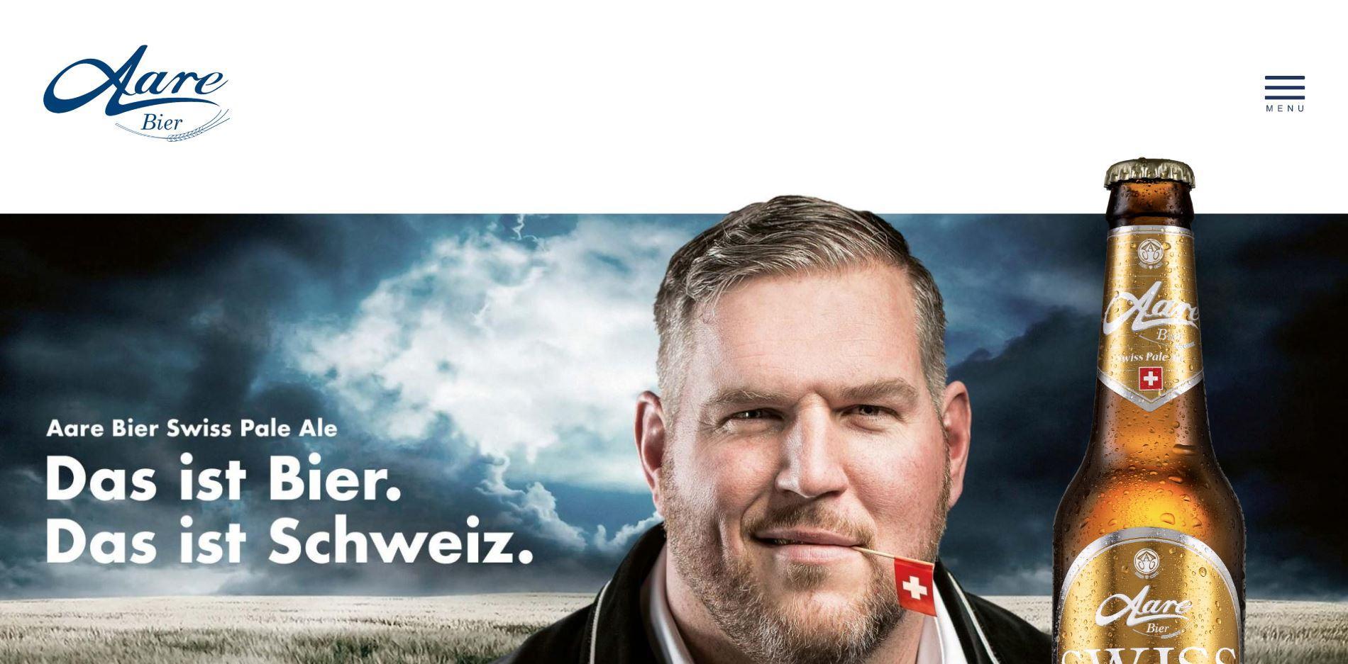 Neuer Webauftritt für die Aare Bier AG
