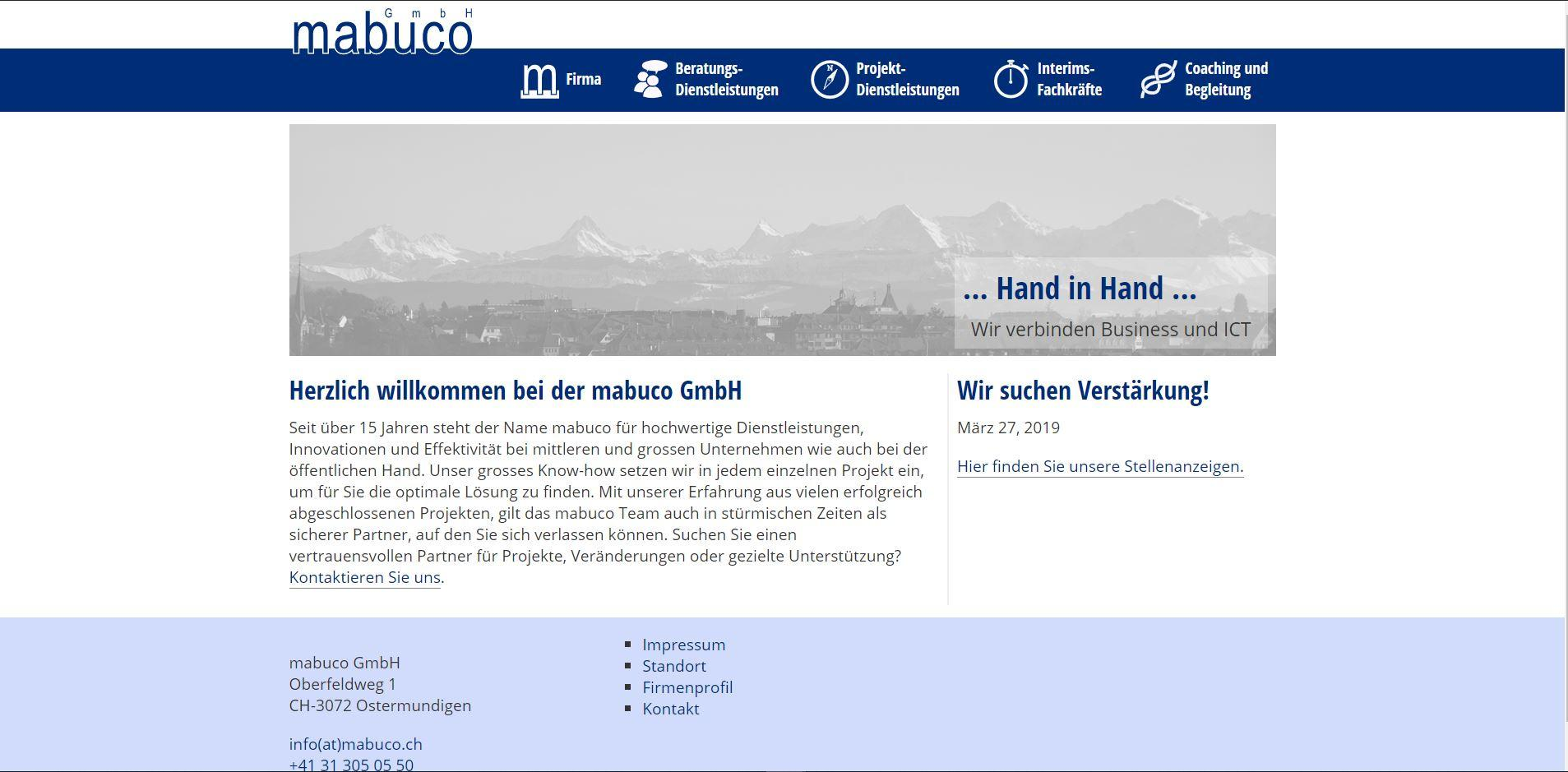 Website mabuco