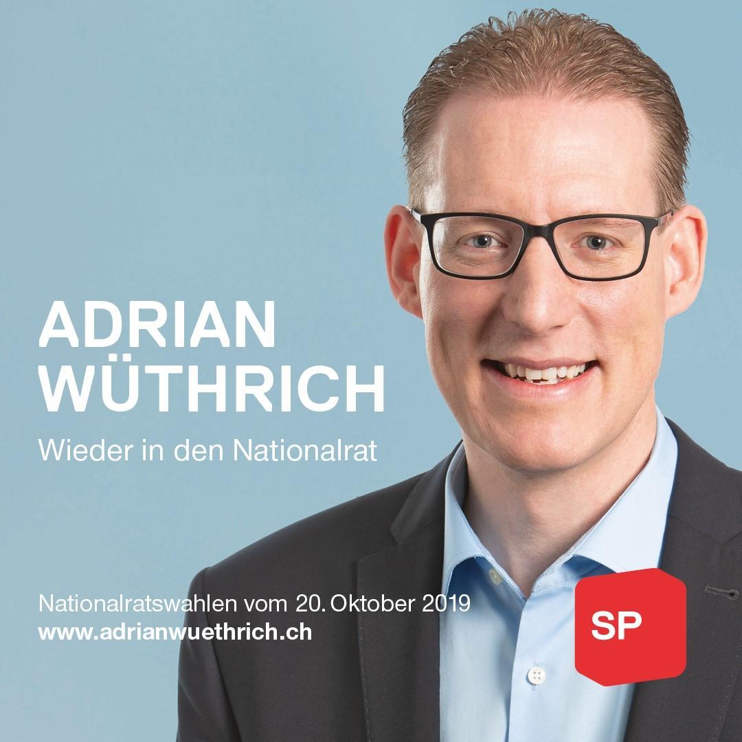 Adrian Wüthrich Banner