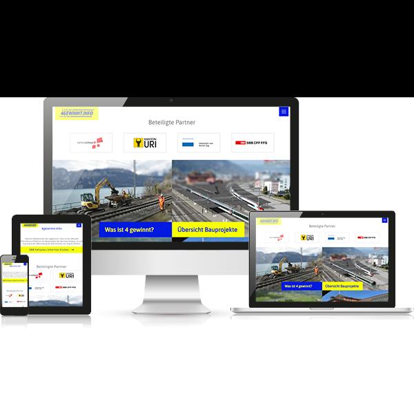 SBB 4Gewinnt Website