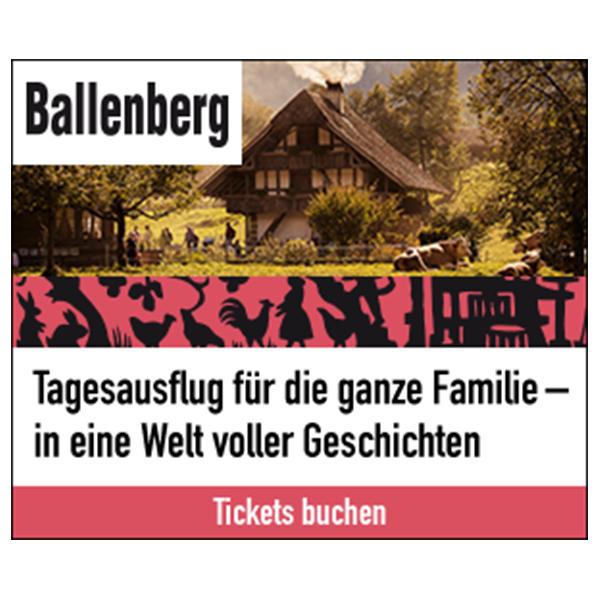 Banner Freilichtmuseum Ballenberg