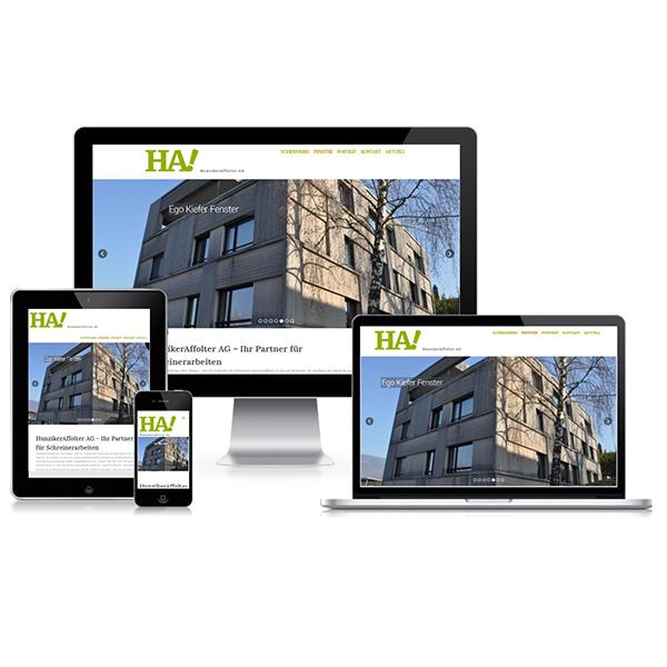 Website Hunziker Affolter