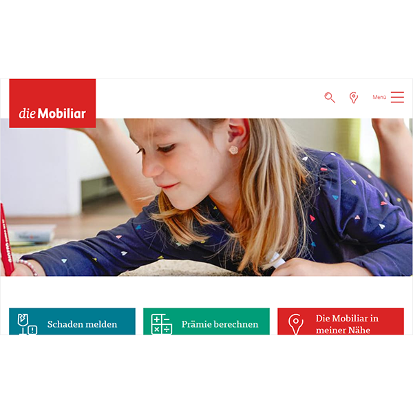 Website Mobiliar
