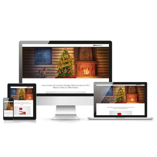 Website SBB Adventskalender 2017