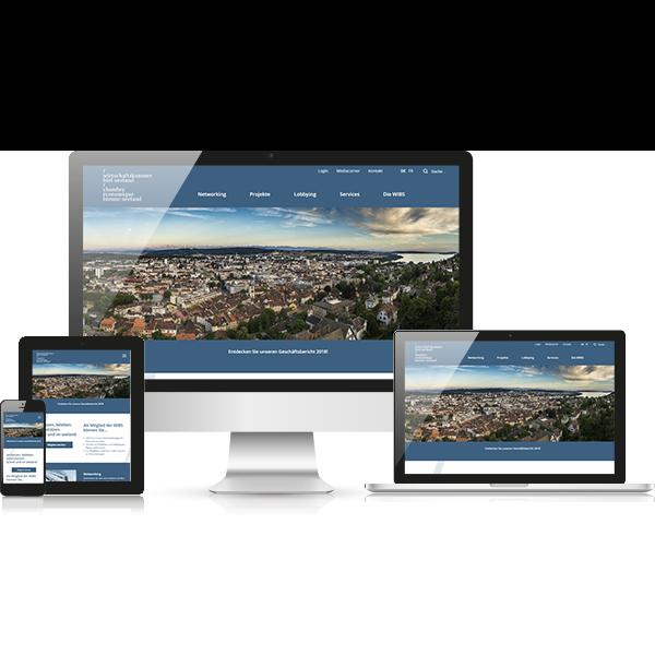 Website Wirtschaftskammer Biel-Seeland