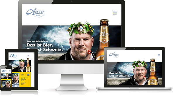 Referenz Webdesign Aarebier