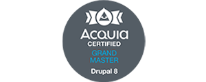ACQUIA Certified Grand Master Drupal 8