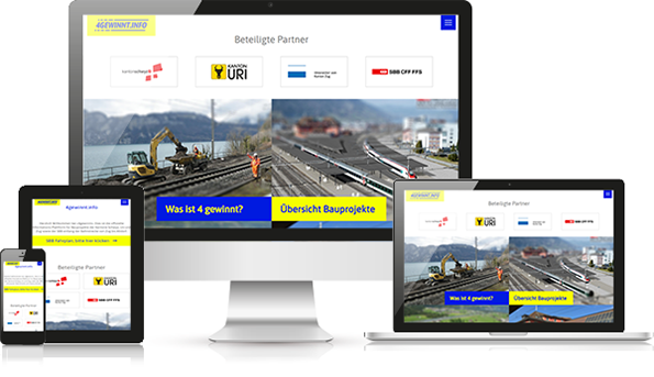 Referenz barrierefreie Website der SBB