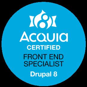 Zertifizierter Drupal 8 Frontend Specialist