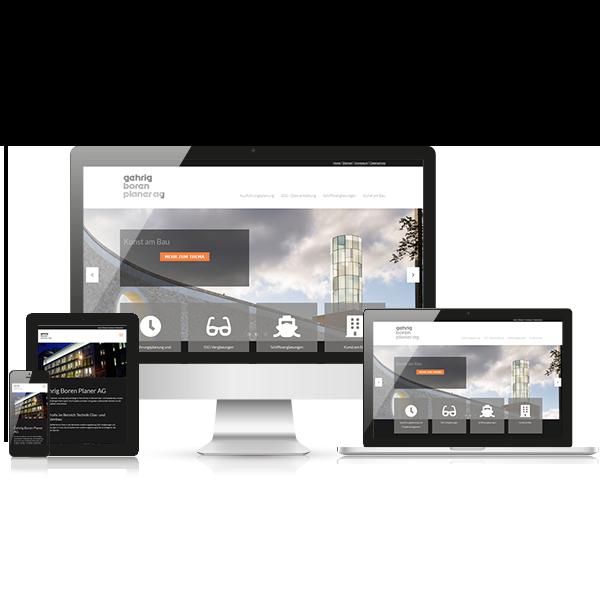 Website Gehrig Boren Planer AG