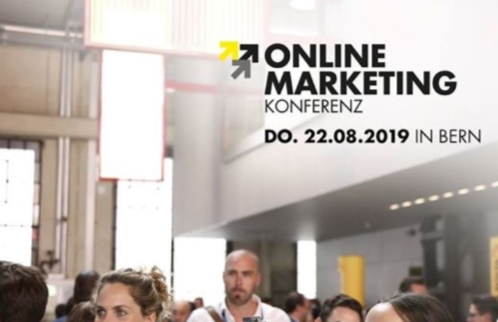 Online Marketing Konferenz Anzeige