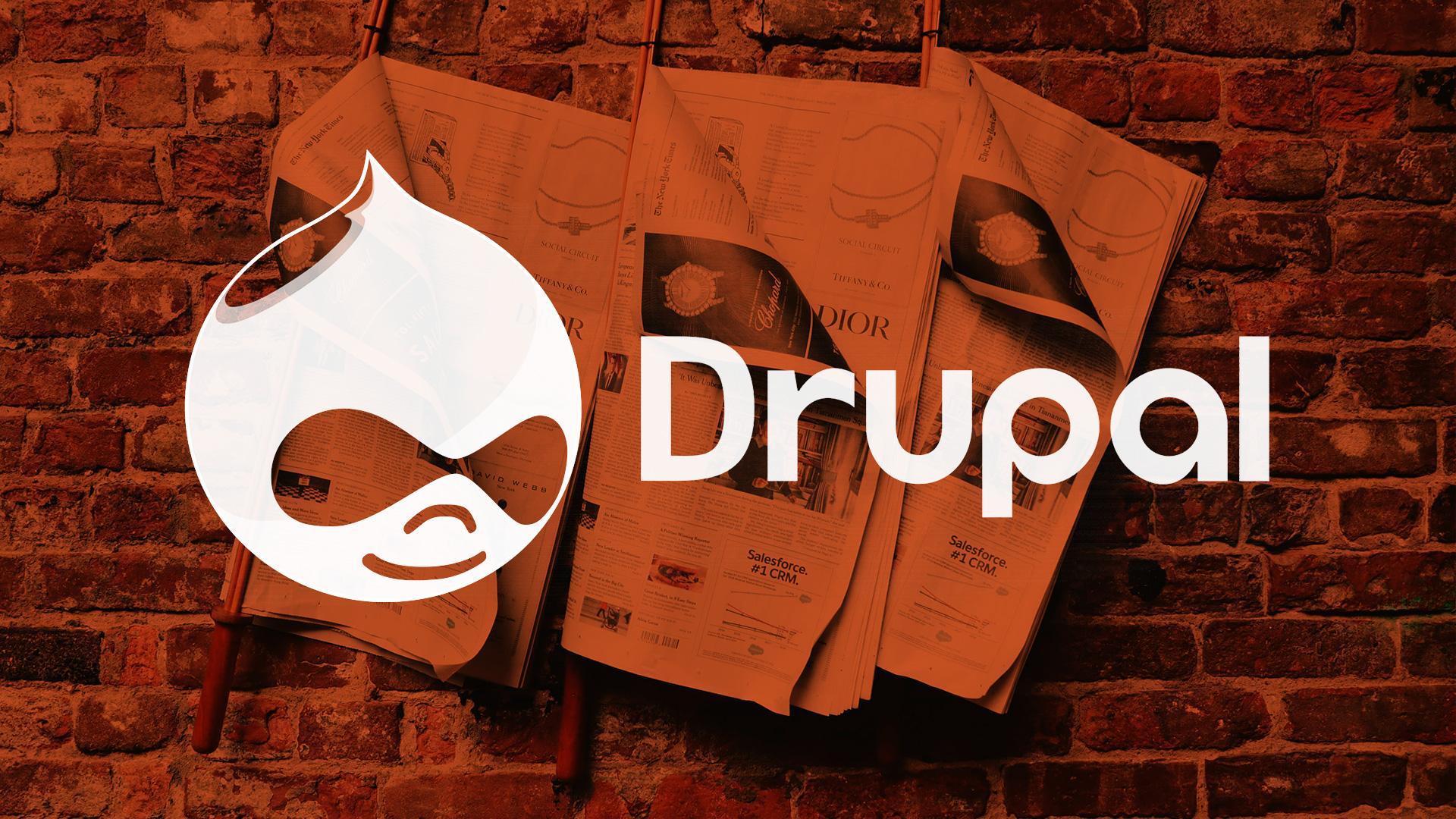 Drupal CMS News