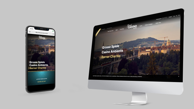 Grand Casino Kursaal Bern AG: Website Relaunch